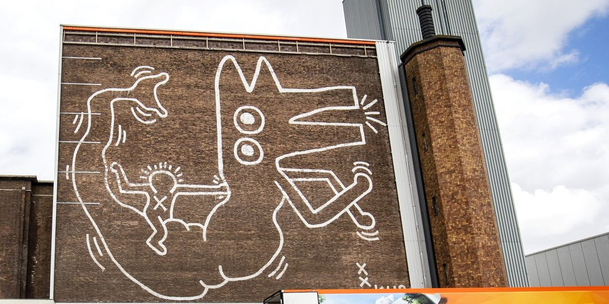 Keith Haring Mural Uncovered In Amsterdam