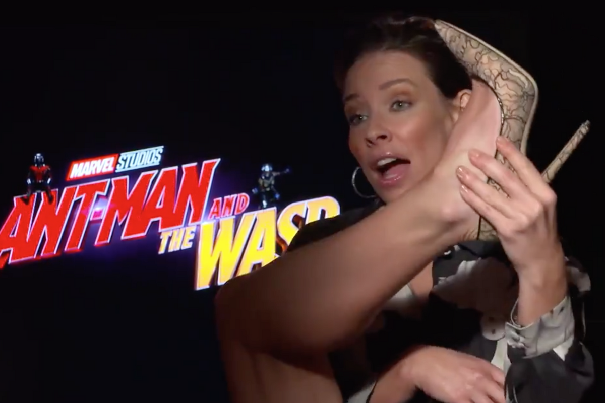 Evangeline Lily Has Words For Male Actors With 'Uncomfortable' Costumes