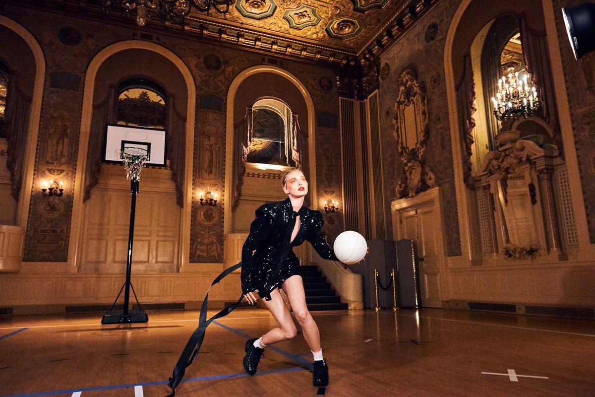 Baroque Basketball with Elsa Hosk