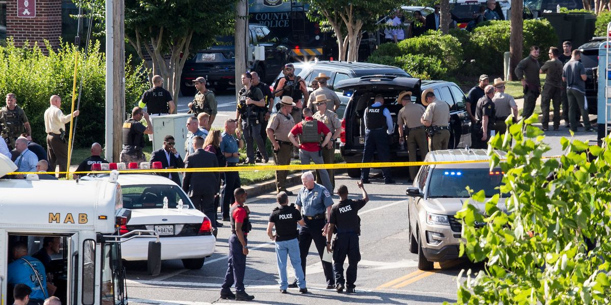 5 Killed by Gunman at Annapolis Newspaper