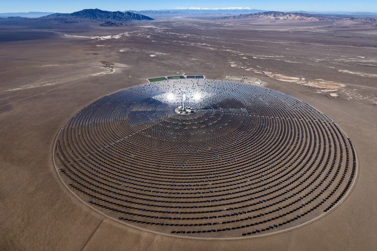 A Nevada solar energy plant could end the fossil fuels era - Big Think
