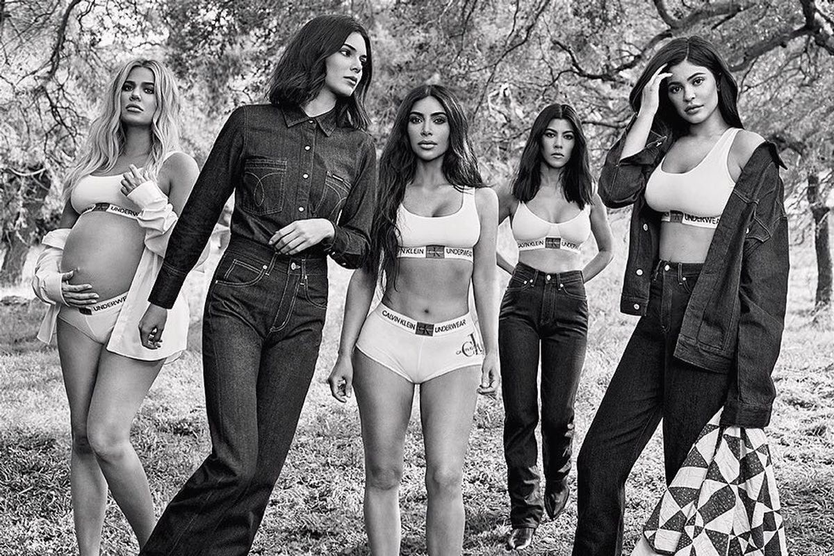 Calvin Klein's Fall Campaign Is Another Kardashian Family Affair