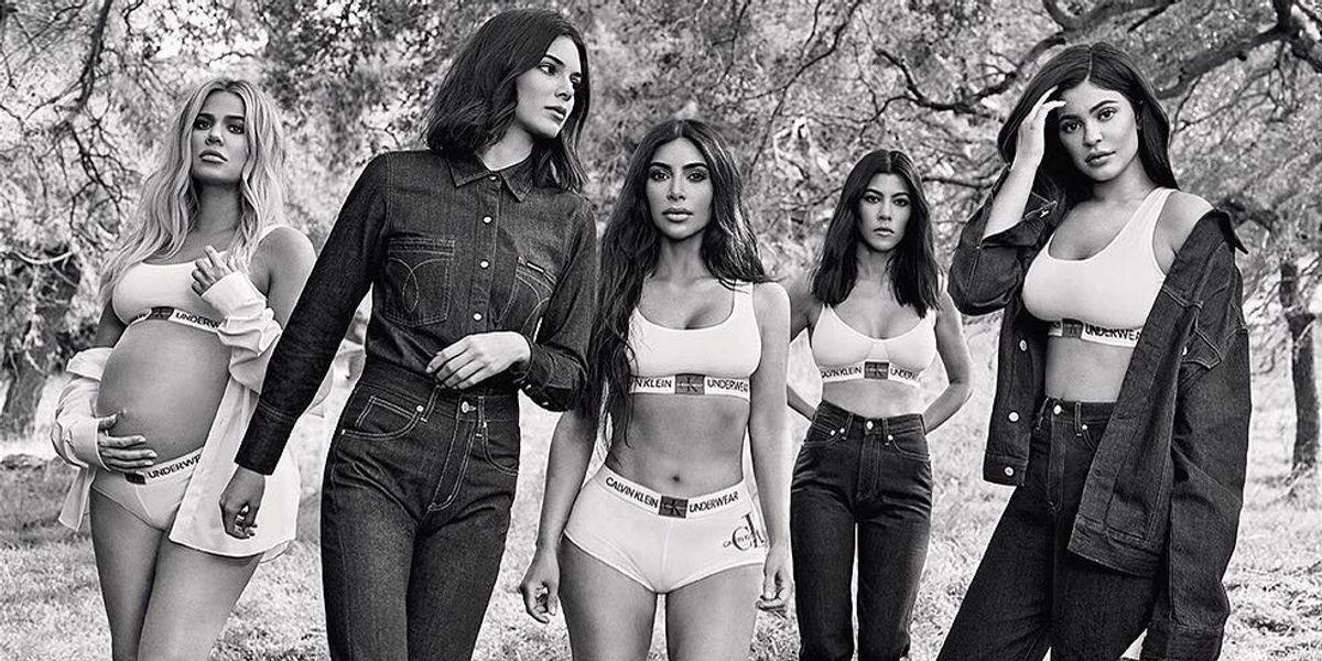 Calvin Klein's Fall Campaign Is Another Kardashian Family Affair