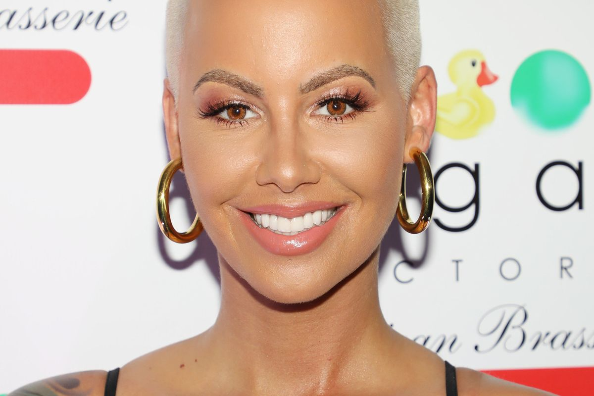 Amber Rose Dramatically Switched Up Her Hair