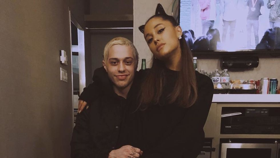 Ariana Grande And Pete Davidson Are Real-Life Proof That Love Isn't Bound By Time