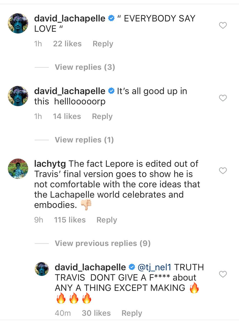"""11b5b2309ff4 Amanda Lepore on Instagram: """"It was great being part of @david_lachapelle s  incredible photograph of @travisscott s albulm cover but I'm curious why  I'm not ..."""