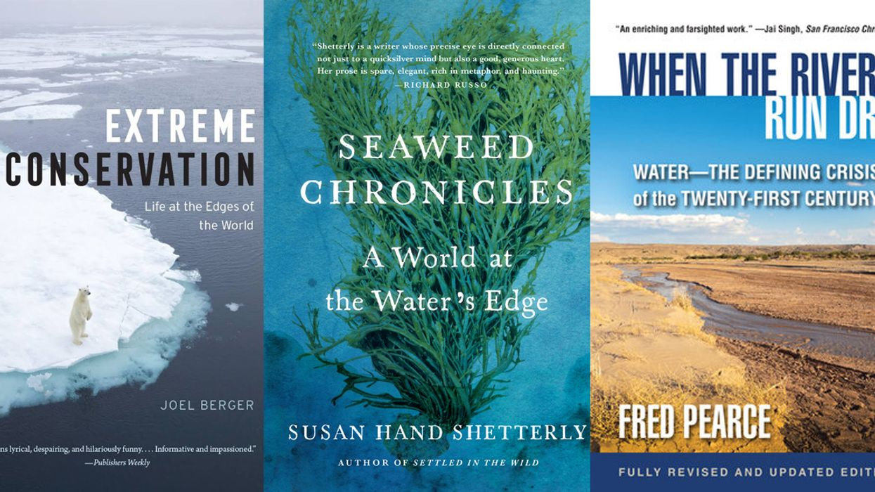 Orangutans, Drones, Seaweed and Water Wars: The 13 Best New Eco-books for August