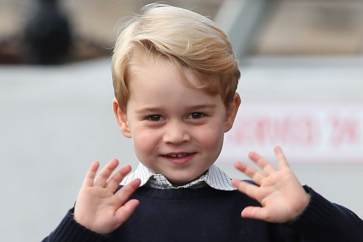 Prince George Is a Style Icon