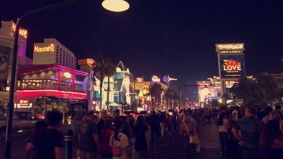 View of the Vegas Strip