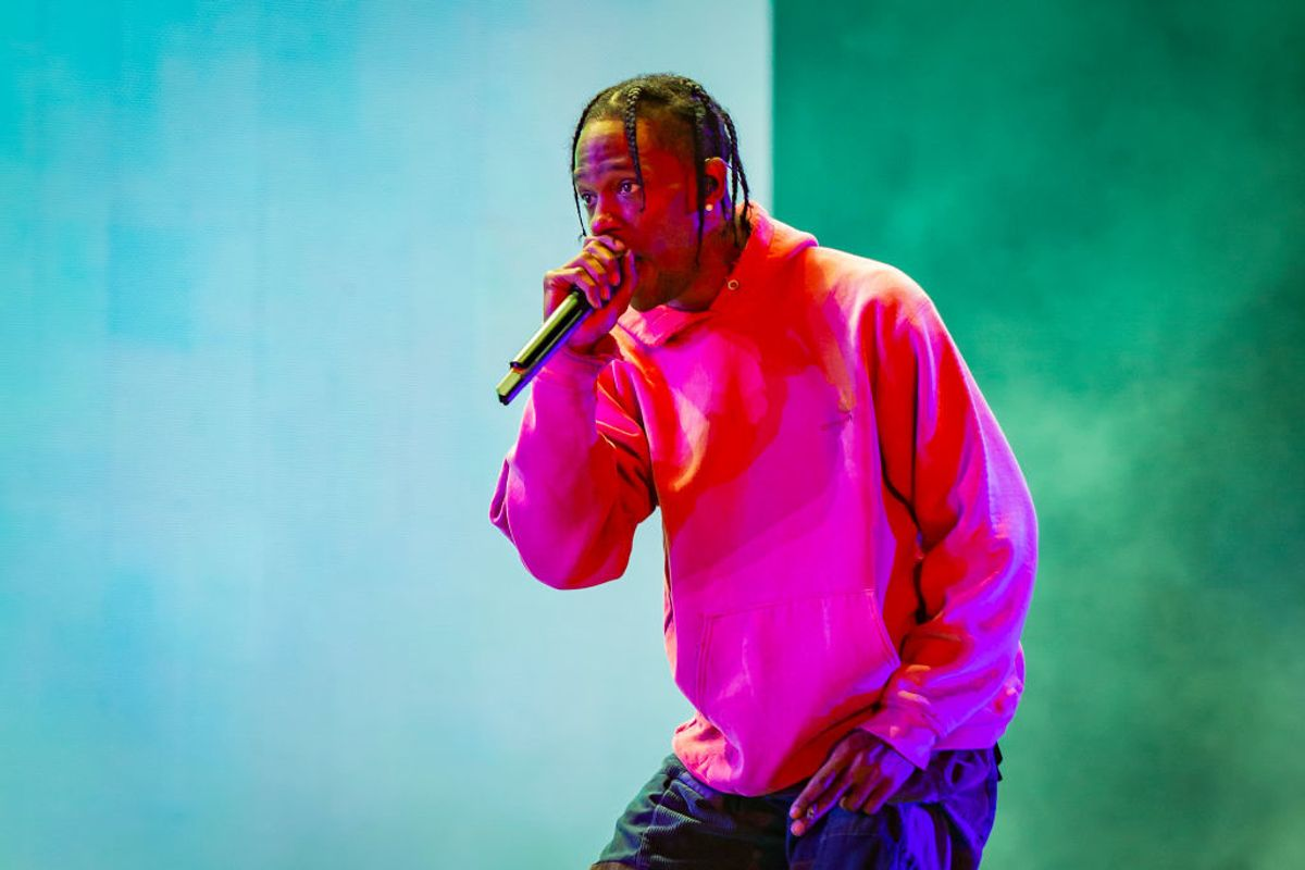 Travis Scott On Why Amanda Lepore Was Removed From 'Astroworld'