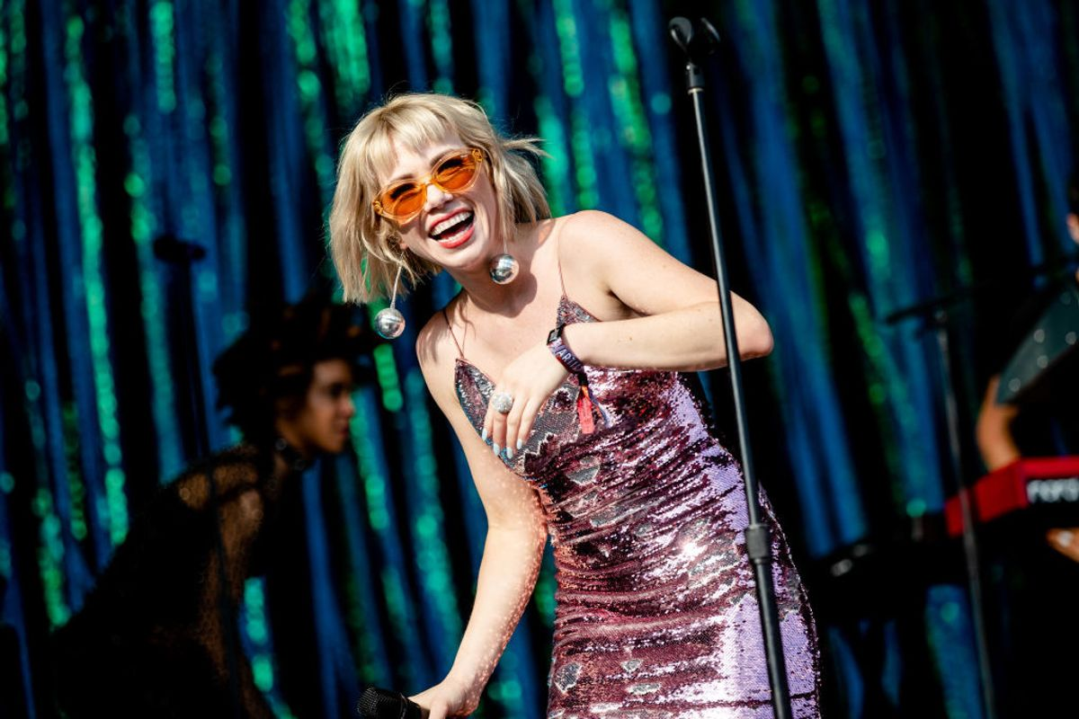 Fans Gave Carly Rae Jepsen a Sword at Lollapalooza