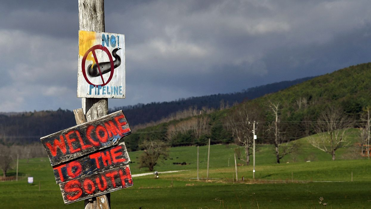 FERC Halts Work on Mountain Valley Pipeline