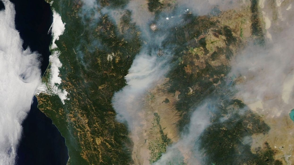 Trump Says California Lawmakers to Blame for Wildfires