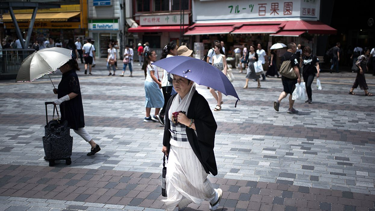 More Than 70,000 People Hospitalized Amid Record-Breaking Heat in Japan