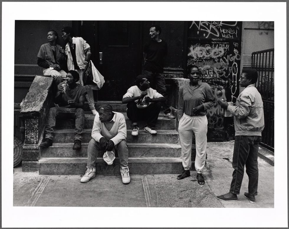 he New York Public Library. (1991). Rgroup hanging out on a stoop. Retrieved from http://digitalcollections.nypl.org/items/9daf5b00-9311-0130-c9ee-58d385a7b928