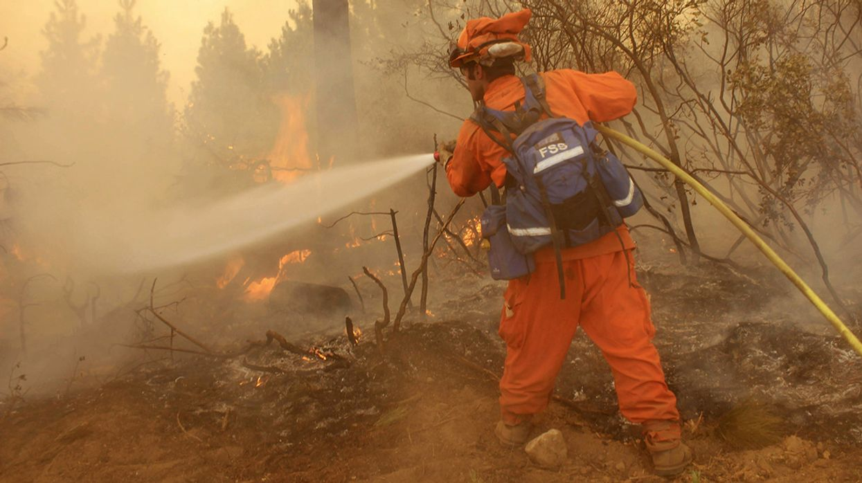 Prison Inmates Fighting California's Deadly Fires