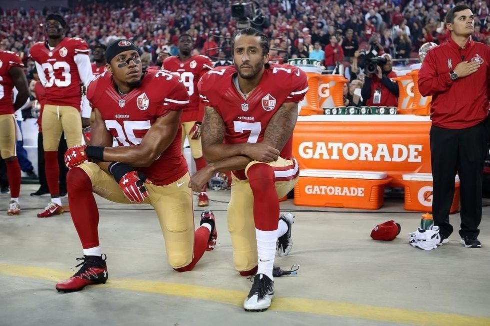 If Our President Was Qualified, He'd Let NFL Players Protest To Raise Awareness For Their Injustices