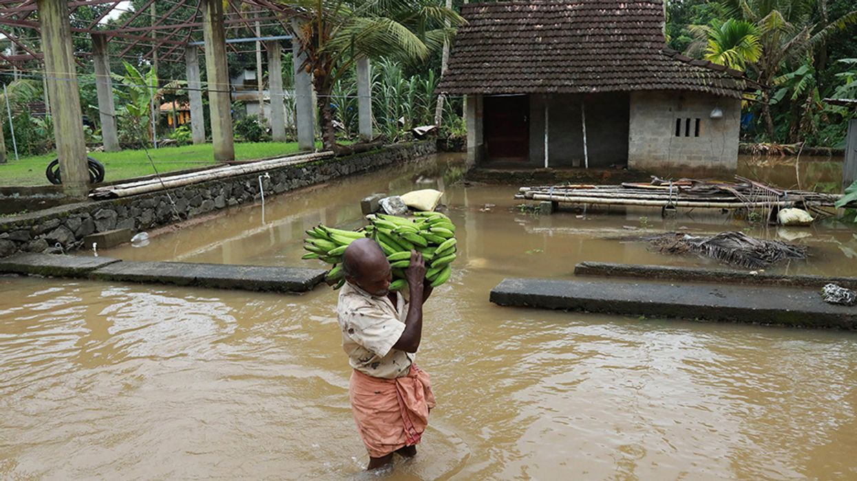 Historic Floods in Southern Indian State Kill 39, Displace More Than 60,000