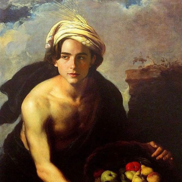 See Timothée Chalamet As Classic Works of Art