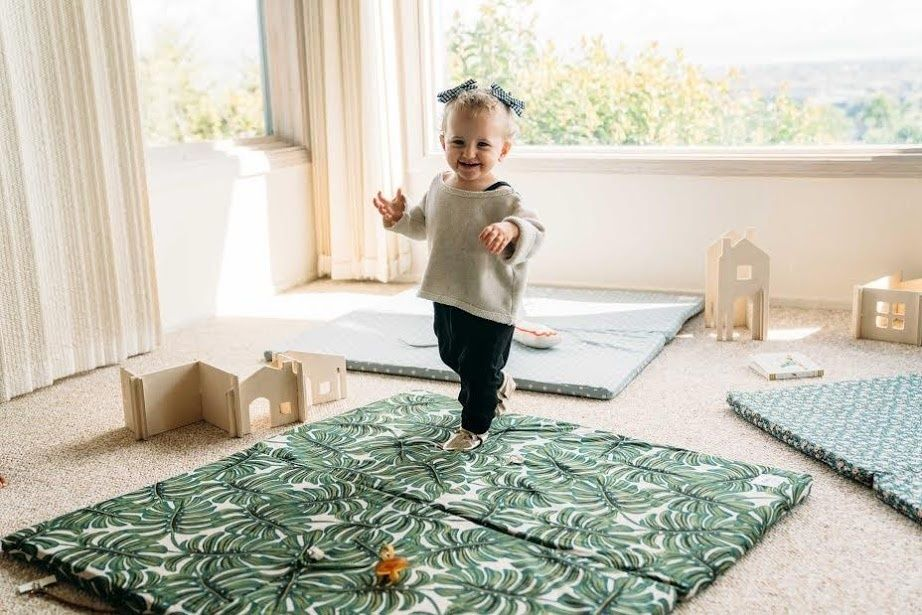 Learned 【ideal Gift For Baby】baby Child Crawling Mat 2 Side Kids Playing Gym Mats Ca Toys & Activities