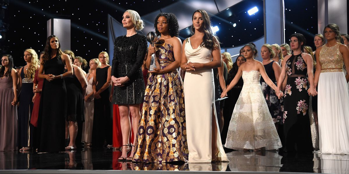 140 Survivors Took to the ESPYs Stage to Deliver a Powerful Speech
