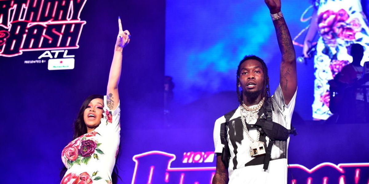 Cardi B Reunites with Offset