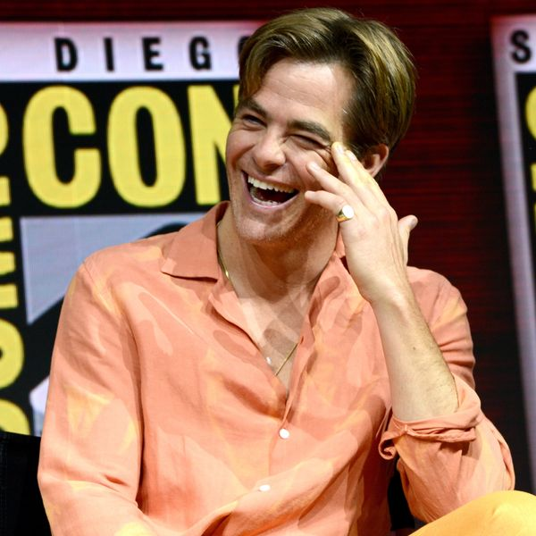 Chris Pine Showed Up To Comic Con As a Sorbet Snack