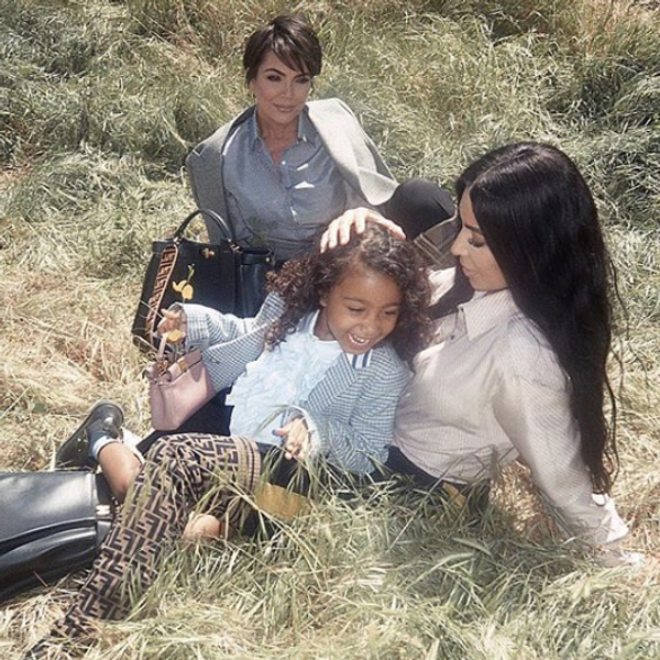 How Kim Kardashian Bribed North West to Model for Fendi