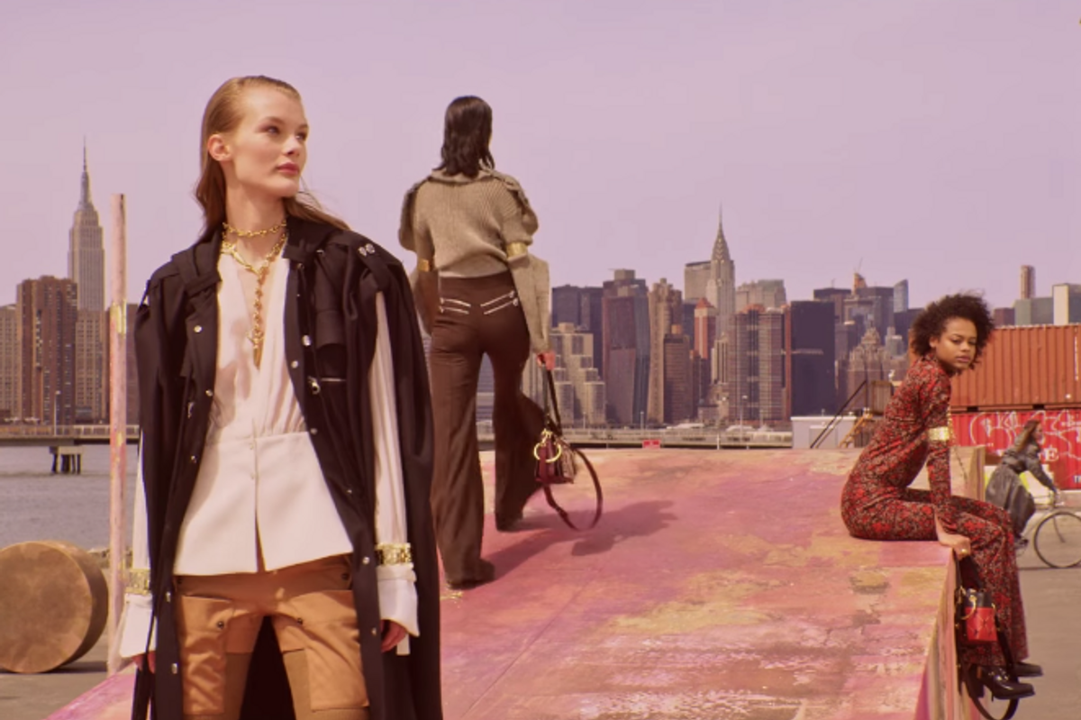 Steven Meisel Brings Models to Brooklyn for Chloe