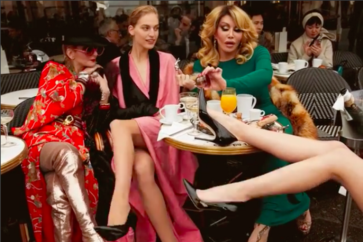 Allanah Starr jean paul gaultier's hilarious short films poke at parisian