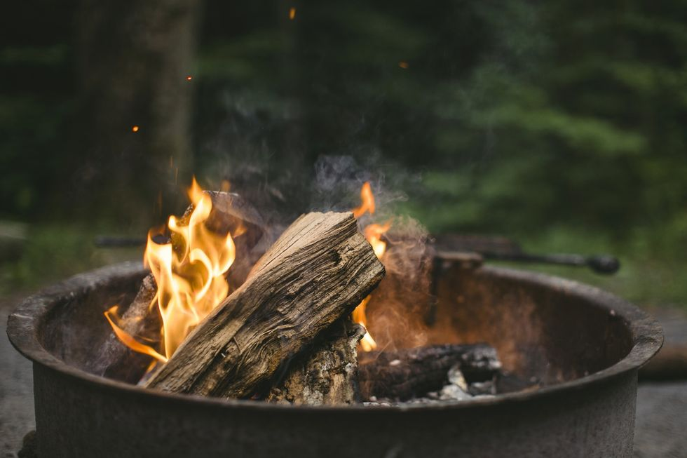 https://www.pexels.com/photo/beige-wood-putted-on-fire-164168/