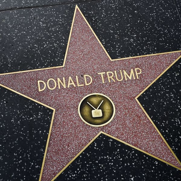 Trump's Hollywood Star Smashed to Smithereens