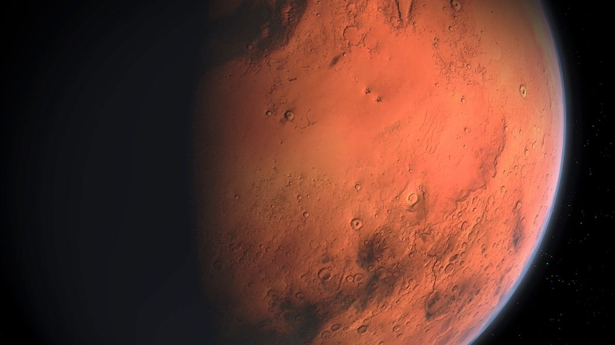 Mars Breakthrough: Water Discovered Beneath Surface