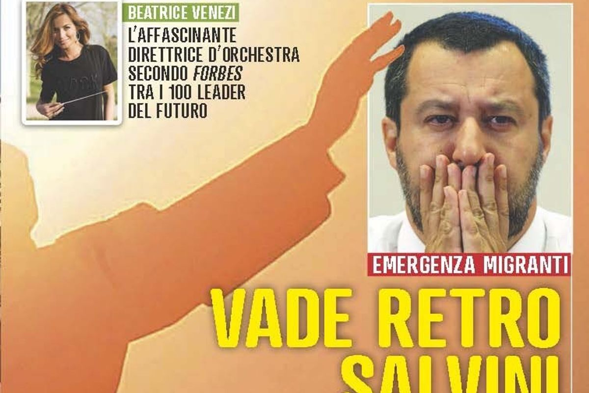 Per «Famiglia Cristiana» Salvini è come Satana