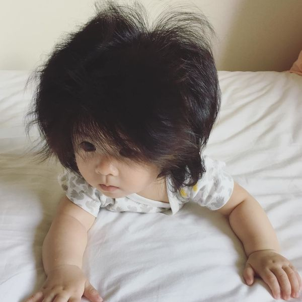 This Baby Has Better Hair Than You