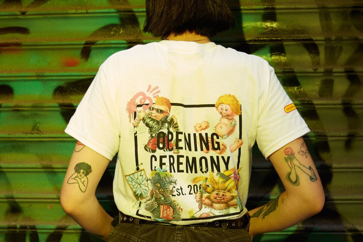 Garbage Pail Kids Returns in New Opening Ceremony Capsule