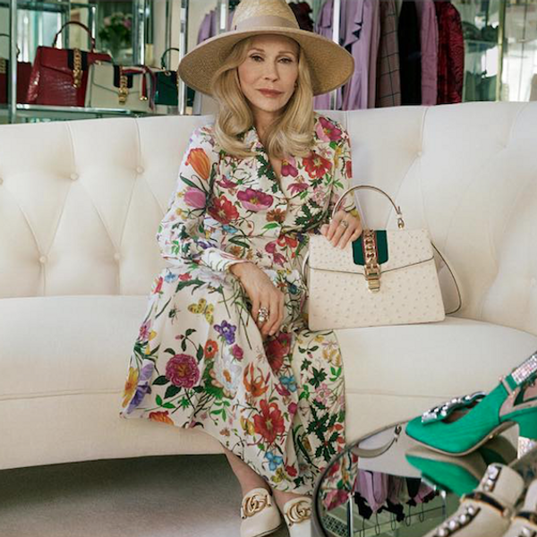 Faye Dunaway Is Back with a New High Fashion Campaign