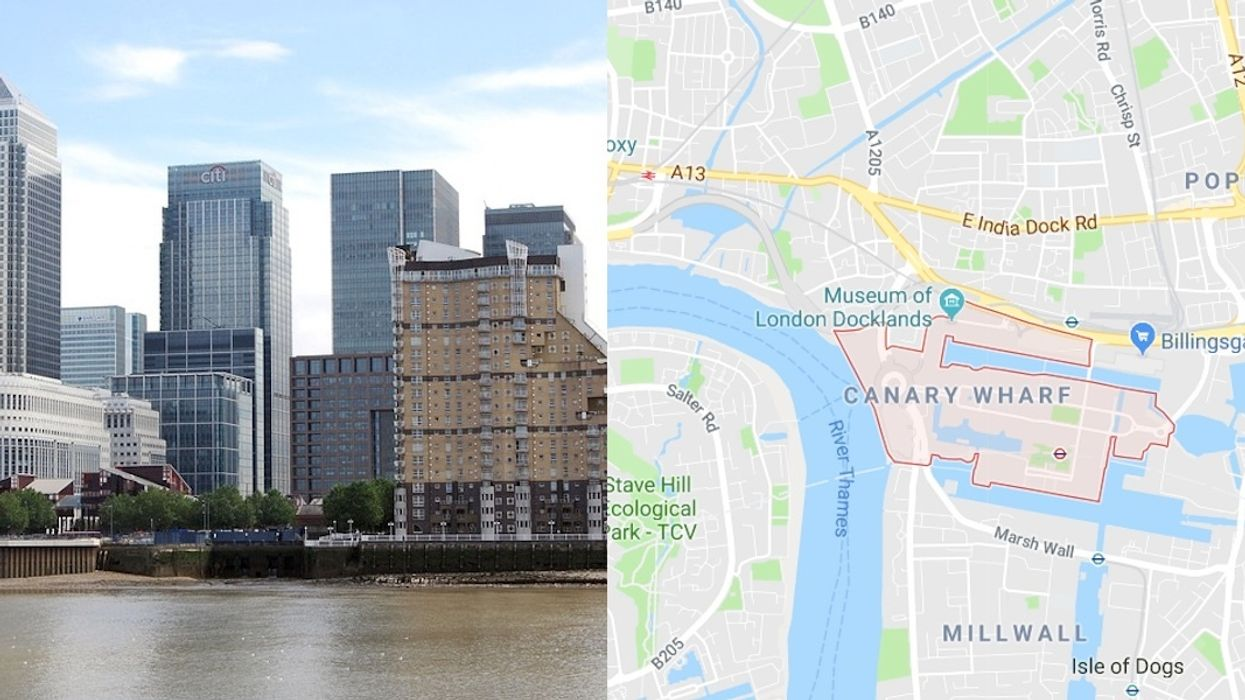 London's Canary Wharf Aims to Be World's First Plastic-Free Commercial Center