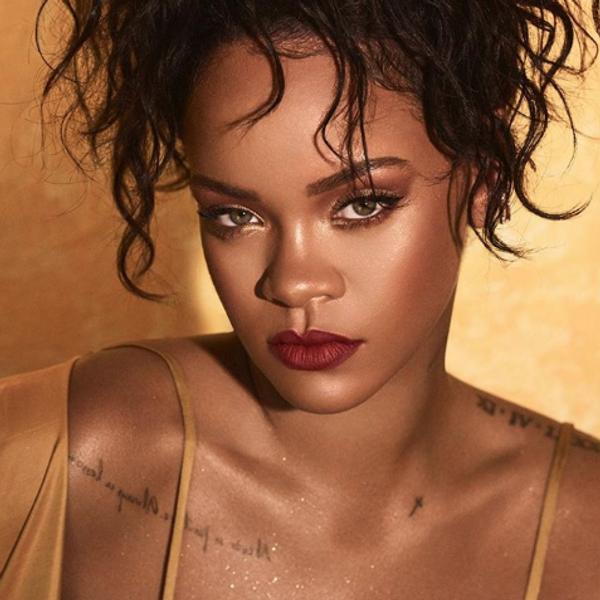 Rihanna Debuts New Asymmetrical Bob