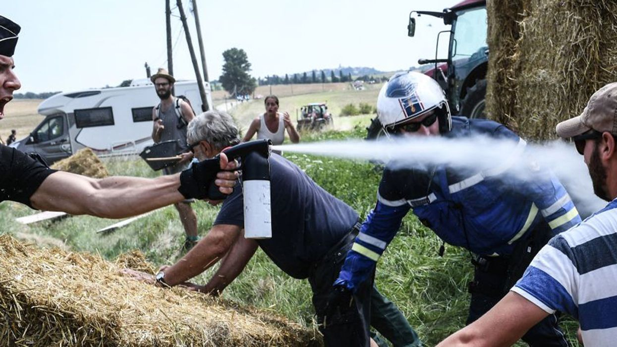 Why Are Farmers Protesting the Tour de France?