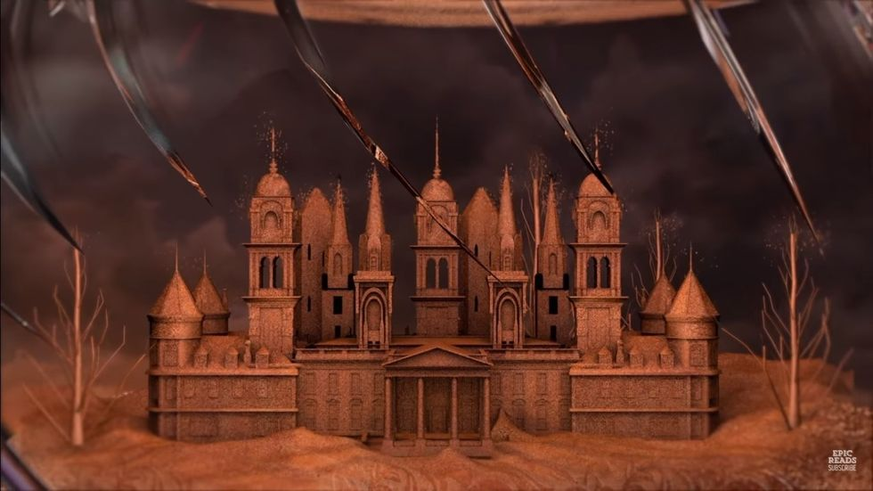 """Castle from the book """"Everless"""""""