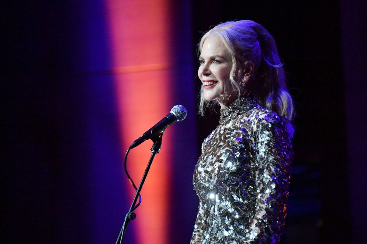 Nicole Kidman Saves a Spider, Proves She's a Cool Mom