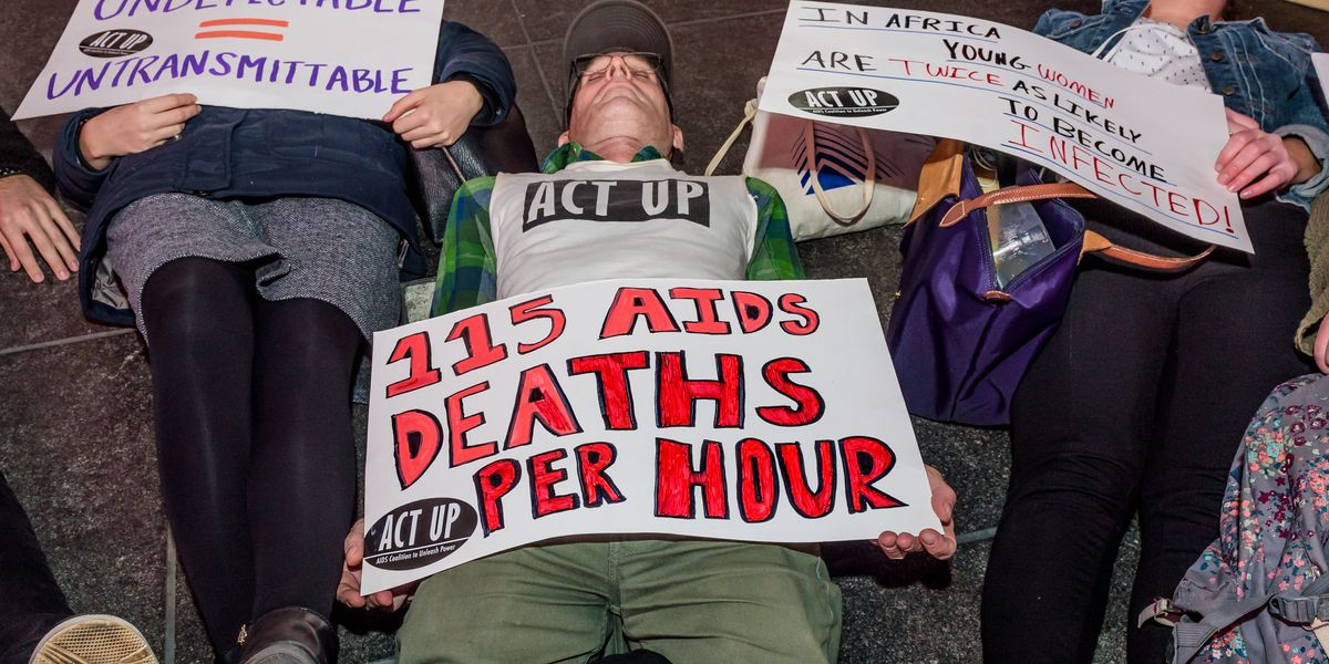 ACT Up Stages Protest at The Whitney Museum