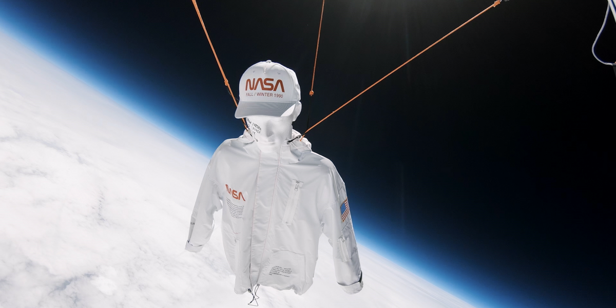 Heron Preston Propels His NASA Collab Into the Stratosphere