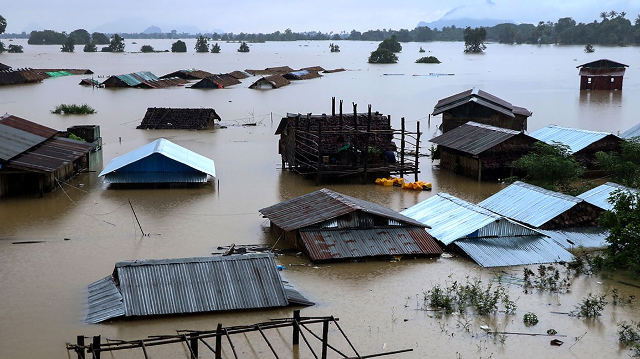More Than 100,000 Displaced in Deadly Myanmar Monsoon Floods