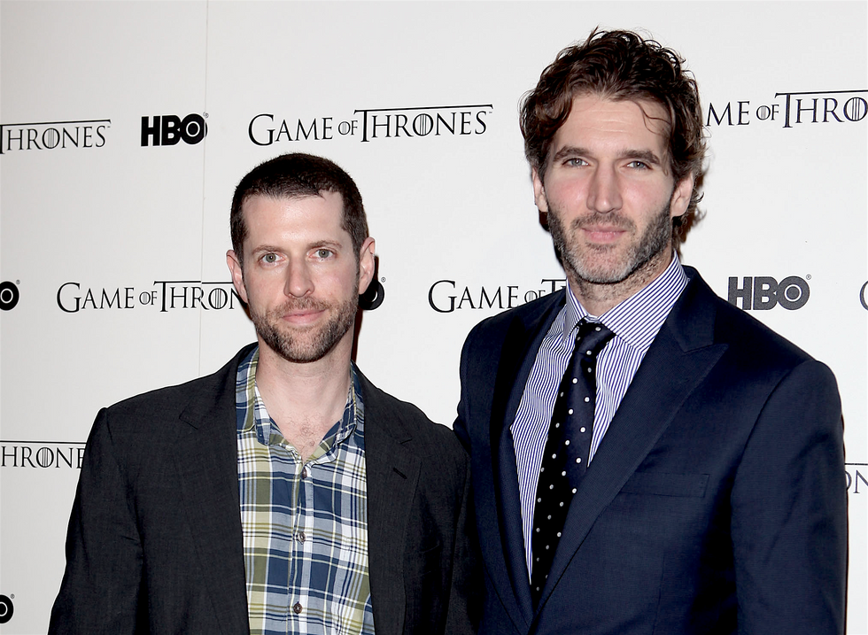Creators D.B Weiss and David Benioff