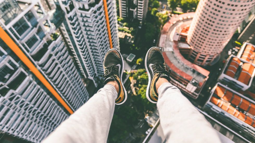Study explains that sudden urge to jump from high places