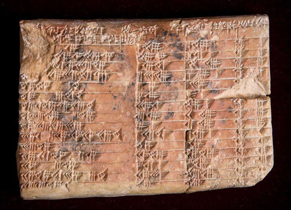 Scientists Discover the Purpose of a Mysterious 3700-Year-Old Babylonian Tablet