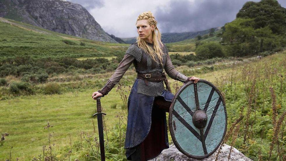 """Katheryn Winnick from History's """"Vikings"""""""