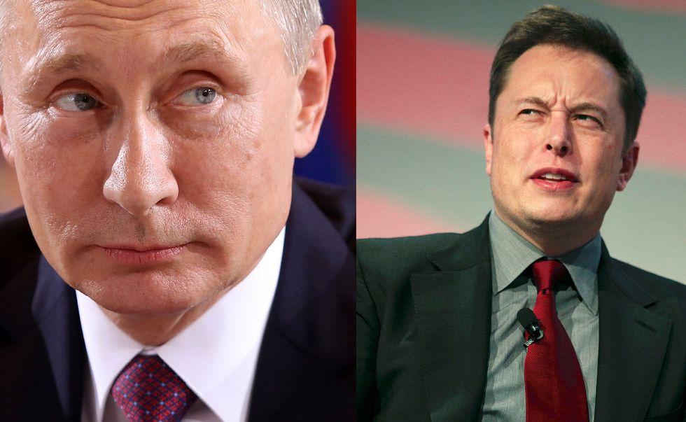 Putin vs Musk